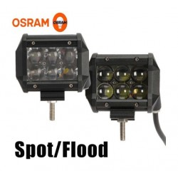 """Luz Exploradora OSRAM 4"""" - 3000 LM 30W. Spot/Flood"""