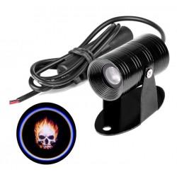 Luz Laser proyector Logo Ghost Rider 9-14V - 460 Lumens