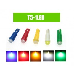 Luz LED T10 7014 Strobe Flash 10 LEDs