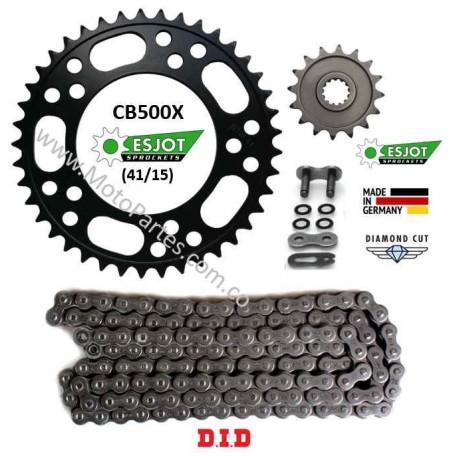 CB500X - Esjot - Kit de Arrastre HONDA