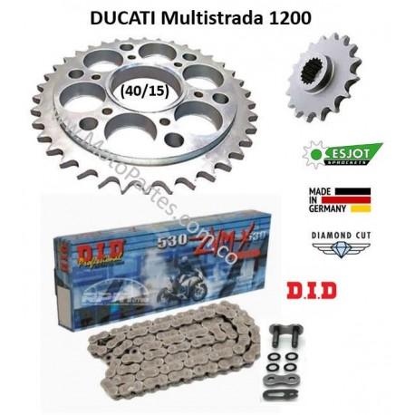1200 Multistrada - ESJOT - Kit de Arrastre DUCATI