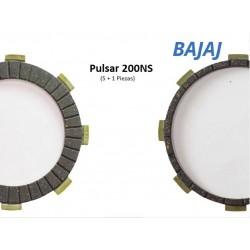 200NS Pulsar - Discos de Clutch
