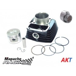 AKT125TT Modificado a 150cc - Cilindro con Pistón MAPACHE RACING