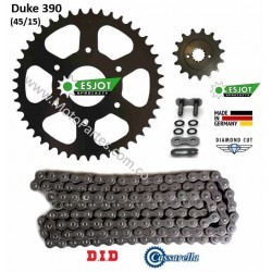 DUKE 390 - ESJOT - Kit de Arrastre para KTM