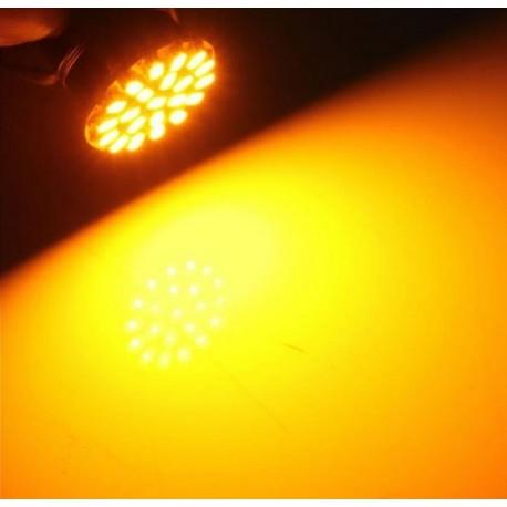 Luz LED 1156 BA15S 22 LEDS - DIRECCIONALES