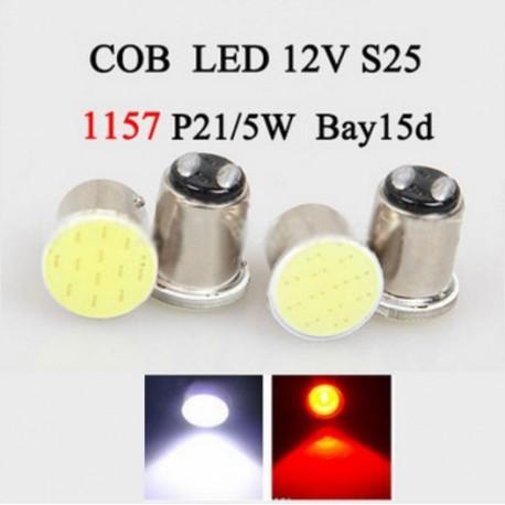 Luz Bombillo LED COB 1157 BAY15D x 1 Pcs